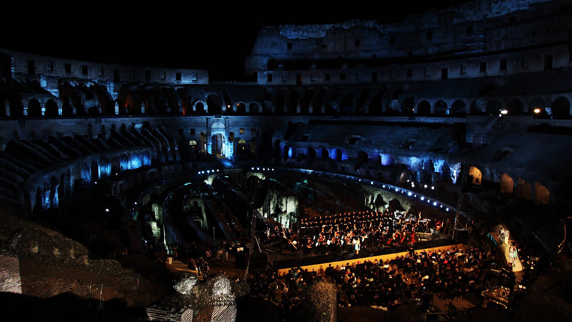 Concerto Al Colosseo, Roma