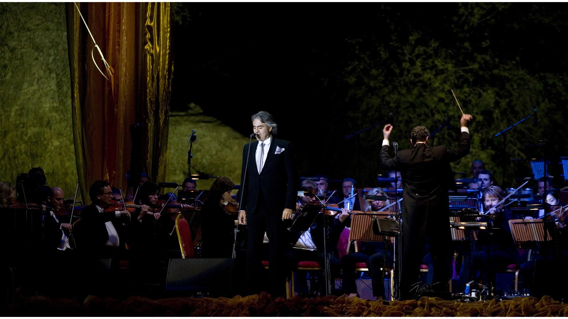 Memorial Pavarotti, Petra