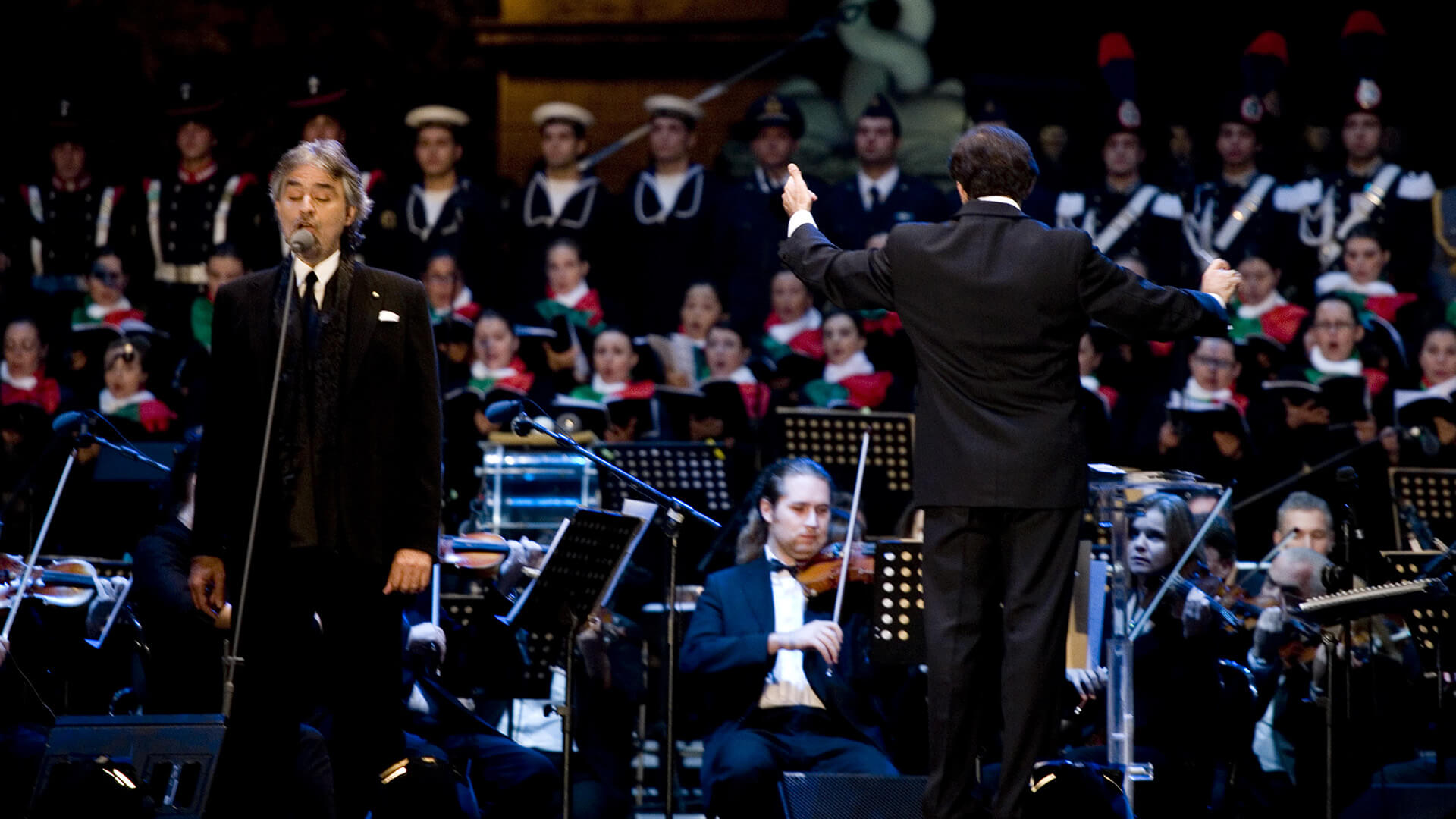 Concert In Honour Of The Armed Forces, Rome