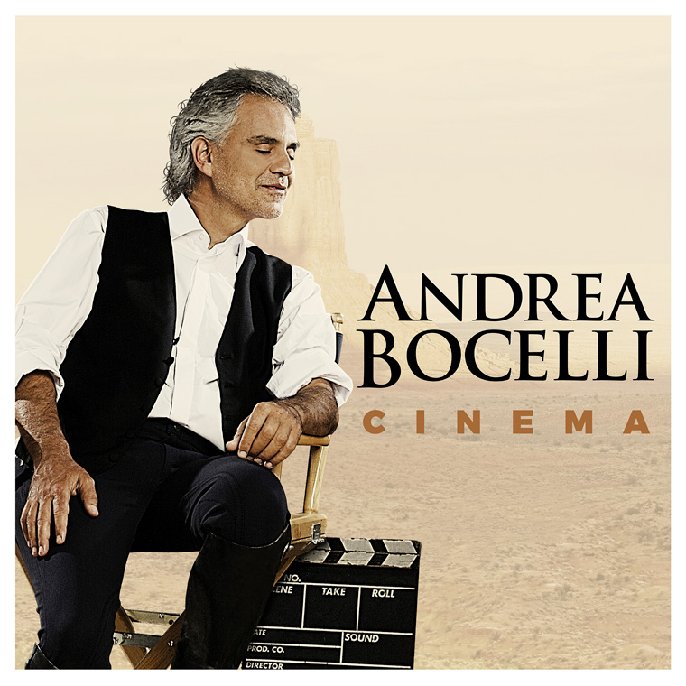"""Bocelli's  """"Cinema"""" nominated for Best Traditional Pop Album at the Grammy awards"""